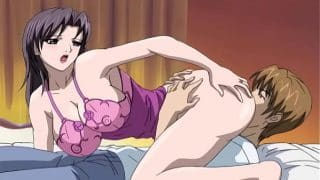 Mom Fucks Her Step Son While Her Husband Rests   Uncensored Hentai